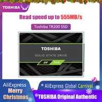 TOSHIBA 240G SSD unidad de estado sólido de 240 GB OCZ TR200 64-capa 3D BIC FLASH TLC 2,5