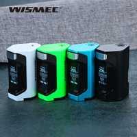 Original WISMEC Luxotic DF 200 W TC caja MOD 7 ml incorporada recargable botella y 200 W Max salida E -cigarrillo Vape Kit del Luxotic BF caja