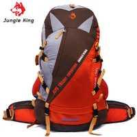 Jungla rey la nueva gran capacidad ultra ligero dragon hill escalada profesional montañismo bolsa deportes al aire libre mochila 50L