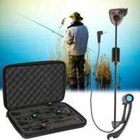 LED carpa pesca mordedura indicador cadena libertino pesca iluminado Swinger pesca accesorios equipo