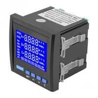 Multifunción 3 eléctrico trifásico voltaje corriente frecuencia medidor de energía VA Hz kWh RS485