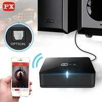 PX receptor Bluetooth Aptx Audio Spdif 5,1 sistema de sonido inalámbrico música Mini adaptador Hifi 3,5mm a altavoz Aux Rca Jack 4,0