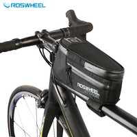 Roswheel 2017 bicicleta de Nylon superior marco frontal tubo BOLSA PARA BICICLETA impermeable bolso de Bicicletas Accesorios ciclismo bolsa Pannier