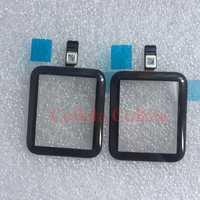 1 piezas de pantalla táctil digitalizador para Apple Watch Series 2 3 38mm 42mm LCD frontal de vidrio Sensor exterior panel de cubierta con Flex Cable + herramientas