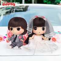 Dddung muñeca vestido de boda caja de regalo amantes románticos Día de San Valentín Boda REGALOS arreglos niña Juguetes