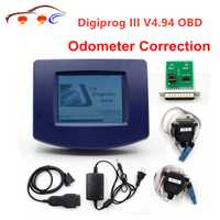 Digiprog III V4.94 Digiprog 3 con OBD2 ST01 ST04 cable odómetro herramienta de corrección Digiprog3 en stock envío gratis