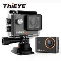 ThiEYE i60 + 4 K Cámara de Acción WiFi con libre de grados de rotación de montaje Ultra HD Cámara ciclismo y buceo deporte cámara de vídeo