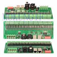Mokungif 30 Canal/30CH fácil DMX Controlador LED decodificador DMX y controlador RGB llevó el regulador 9-24 V
