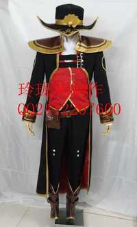 LOL Twisted Fate the Master Card Original uniforme traje de Halloween Cosplay traje A018