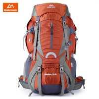 Maleroads 60L Super resistente al agua al aire libre mochila Nylon tela mochila al aire libre Camping senderismo bicicleta mochila multifuncional