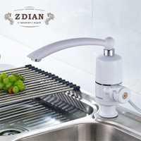 Más nuevo calentador de agua cocina grifo de agua caliente instantánea calentador de agua eléctrico instantáneo calentador de agua Baño