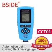 BSIDE edición rusa CCT01 Digital medidor de espesor de revestimiento pintura automotriz de F/N sonda 1300um/51,2 ml con interfaz USB