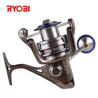 RYOBI 6000/8000 carrete de pesca 5,0: 1/6 + 1BB CNC Hanle Molinete Para Pesca carretes de Pesca Moulinet Peche Olta Zew de alimentación de AP