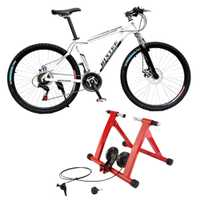 Bicicleta entrenador camino Turbo entrenador magnético interior MTB bicicleta de bicicleta ciclismo formación de reparación Rack soporte