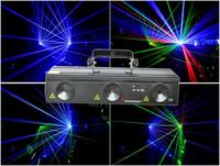 DMX512 3 lente 3 RGB DJ discoteca de luz láser etapa partido mostrar DMX 730 MW para dj iluminación de escenario