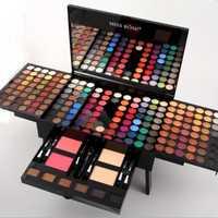 Maquillaje mate brillo sombra de ojos en polvo Blush cosméticos Caja 10 profesional multifuncional