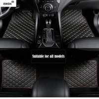 Universel de voiture tapis de sol pour bmw g30 bmw e90 f01 f10 f11 f25 f30 f45 x1 x3 f25 x5 f15 e30 e34 e60 e65 e70 e83 Voiture accessoire