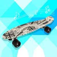 22*06 pulgadas de La Calle de Impresión 22 pulgadas Largo Patín Completo Retro Graffiti Estilo Skateboard Cruiser Patineta Tabla Larga