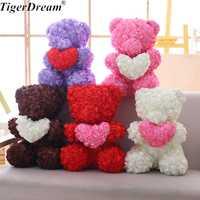 Nuevo 60 CM regalo de Día de San Valentín, 5 colores, gran oso Huging Corazón de peluche de juguete de algodón Teddy osos dulce olor muñeca regalo de novia