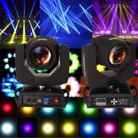 (El barco de la UE) 2 piezas 230 W DMX 16CH 7R haz cabeza móvil luz del punto etapa Disco DJ fiesta