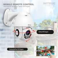Cámara PTZ IP 1080 P WiFi inalámbrico resistente al agua al aire libre de dos vías de Audio 64G TF tarjeta de grabación vista móvil de vigilancia cámara de CCTV