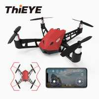ThiEYE el X Mini Drone con cámara HD 1080 P Cámara APP RC alta palanca estabilidad de vuelo Quadcopter Drone bolsillo