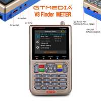 Nuevo GTmedia V8 buscador medidor Digital buscador de satélite HD DVB-S2/S2X ACM de alta definición de 3,5
