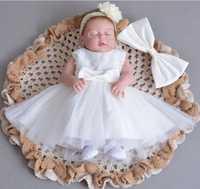 2019 nuevas muñecas Reborn de 23 ''cuerpo completo de silicona muñeca recién nacida bebé juguete con vestido de princesa blanca para niños regalos de día de juguete