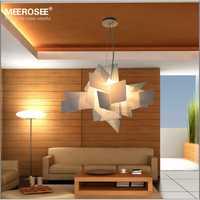 Moderno colgante luces Irregular Foscarini brillo arte lámpara colgante gota de Color rojo blanco lámpara de comedor Luminaria habitación suspendu