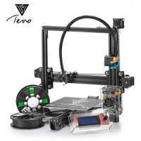 Etiqueta tarántula I3 impresora 3D de extrusión de aluminio 3D kit de impresora 3d Impresión de 2 rollos de tarjeta SD pantalla LCD como regalo