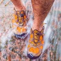 Clorts hombres zapatos de playa Aqua zapatos de malla zapatos de vadeo rápido seco arriba zapatos de sandalias