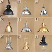 De lujo grande colgante iluminación Vintage lámpara Industrial lámpara americano de cobre, lámpara Industrial lámparas Edison de la lámpara