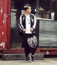 Venta caliente diablo hip-hop DS DJ tienda personalidad marea masculina estilista dos CAS envío libre