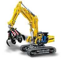 LELE Technic 2in1 juego de bloques de construcción de excavadora juego de ladrillos modelo clásico de ciudad niños juguetes regalo Marvel Compatible Legoe