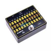 Caline CP-24 10-banda EQ Pedal de efectos de guitarra efecto Bypass verdadero guitarra pedales accesorios de aleación de aluminio piezas de guitarra EQ los pedales