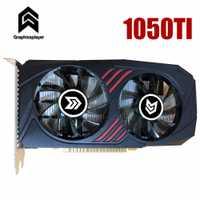 Tarjeta gráfica PCI-e GTX1050ti GPU 4G DDR5 para nVIDIA Geforce juego PC 4096 MB