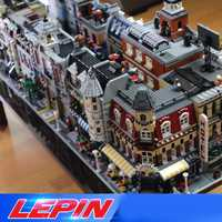 DHL educativos STADT, vista a la calle de la arquitectura de los creadores de 15002, 15003, 15004, 15005, 15006, 15007, 15008, 15035 legoed