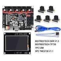 BIGTREETECH SKR V1.3 Smoothieboard 32Bit + TFT35 V1.2 pantalla táctil + BLtouch + TMC2130 spi UART piezas de impresora 3D del MKS GEN L