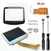 Para GameBoy Advance mod retroiluminación LCD 40Pin GBA SP AGS-101 pantalla retroiluminada + herramienta