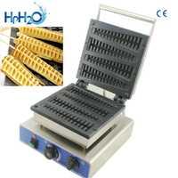 Máquina de gofres comercial 110 V/220 V CE aprobado 4 Uds máquina de gofres palillo para huevo máquina de gofres árbol de Navidad máquina de gofres