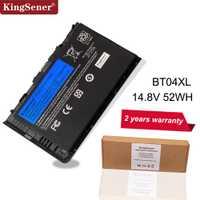 KingSener Nouveau BT04XL Batterie pour HP EliteBook Folio 9470 9470M 9480M HSTNN-IB3Z HSTNN-DB3Z HSTNN-I10C BA06 687517-1C1 687945-001