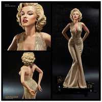 42cm escala 1/4 rubias Marilyn Monroe estatua figura sexy de PVC juguete de modelos coleccionables envío gratis
