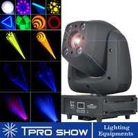 140 W LED cabeza móvil luz 100 W Gobo lugar 4x10 W etapa de lavado iluminación Prisma de DJ iluminación LIRA profesional para Disco Club boda