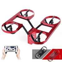 Nuevo Vuelo drone ty-6 RC selfie mini drone con cámara plegable triple WiFi FPV quadcopter altitud mantenga flotante Juguetes