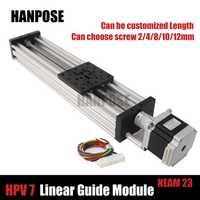 HPV7 Openbuilds C-Beam actuador lineal eje Z t8 paso de tornillo de plomo 2/4/8/12 /14mm NEMA 23 2.8A motor paso a paso o impresora Reprap 3D