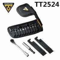 Topeak TT2524 Ratchet Lite función montaña herramientas T10/T25 Torx interruptor prendedor llave hexagonal llave Allen socket set