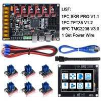 Carte de commande BIGTREETECH SKR PRO V1.1 32Bit + écran tactile TFT35 + TMC2130 SPI TMC2208 Driver pièces d'imprimante 3D Reprap MKS GEN L