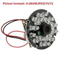 Full HD envío conductor 1080 p MJPEG/H.264 30fps 1/3 CMOS AR0330 infrarrojo ir USB cámara con ir led tablero y micrófono