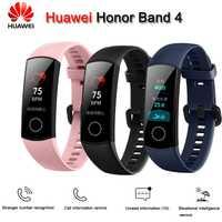 Original nouveau Huawei Honor Bande 4 Smart Bracelet Amoled Couleur 0.95