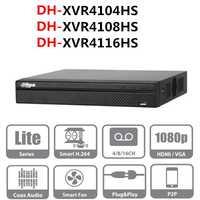 DH grabadora de video DVR XVR4104HS XVR4108HS XVR4116HS 4ch 8ch 16ch 1080 p apoyo HDCVI/AHD/TVI/CVBS /cámara IP